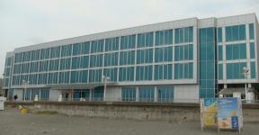 Гостиница (вентилируемый фасад, алюминий и стекло)