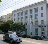 Фасадно-витринная группа салона PODIUM